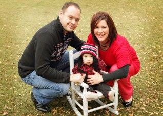 Shade Davis and Family