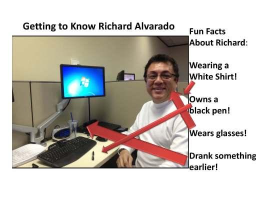 Getting to Know Richard Alvarado