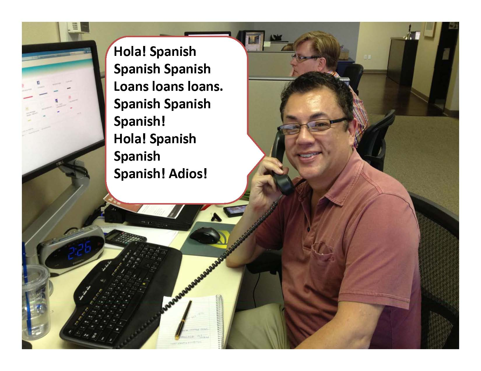 Richard Alvarado | Just the Assistant