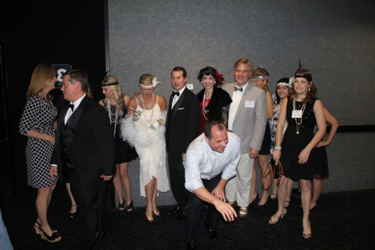 Great Gatsby group blooper