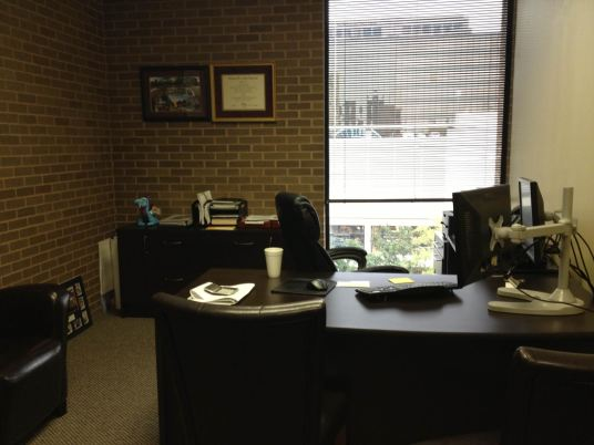 Ty's Empty Office