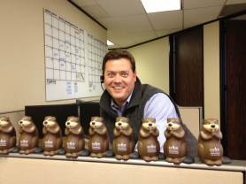 Beaver with his Beavers