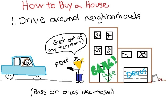 Buying a House Step One