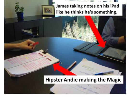 Hipster Andie's Magic